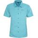 Meru Melissia Shortsleeve Shirt Women blue/turquoise